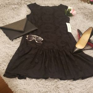 Maggy London Lace Detail Dress
